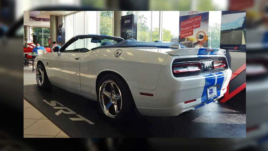 Custom Dodge Challenger Hellcat Convertible Could Be Yours For $95k