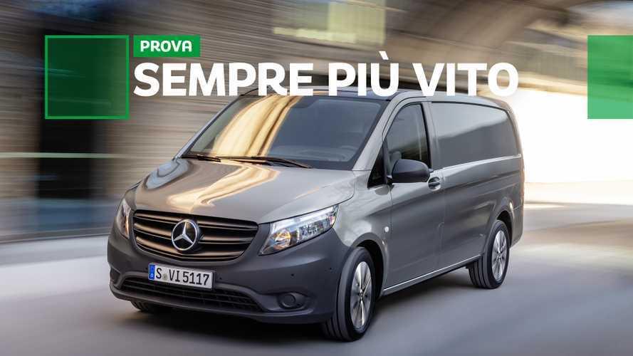 Mercedes-Benz Vito restyling, un bel trasportare, ecco la prova