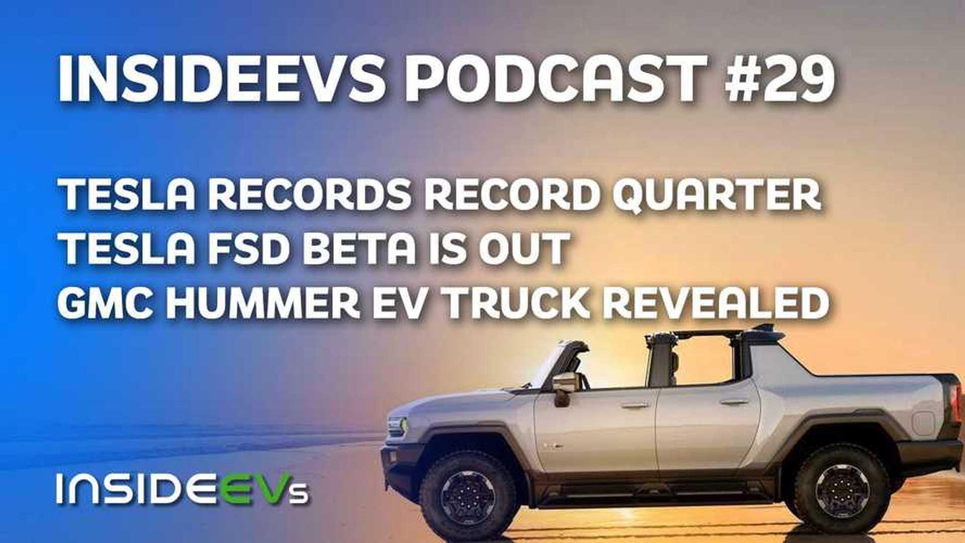 Tesla Clocks Record Quarter, GMC Hummer EV Officially Revealed