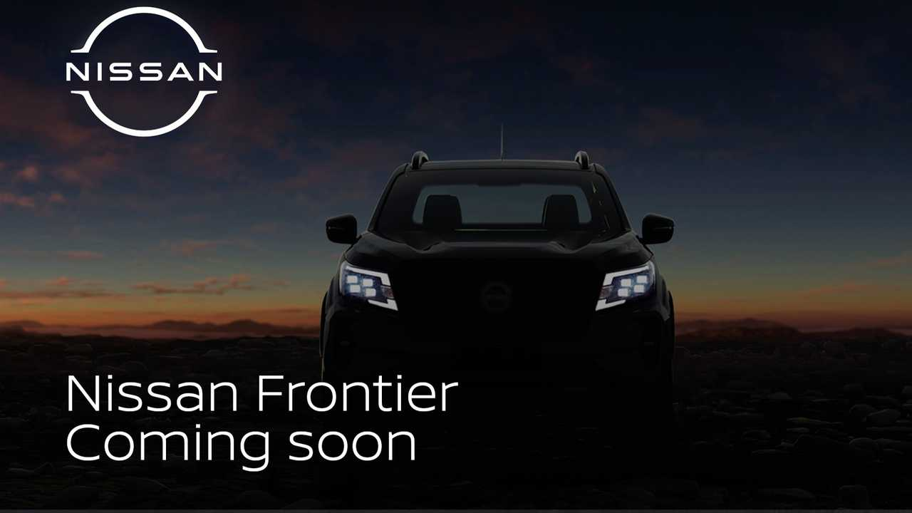 2021 Nissan Frontier (South America) teaser