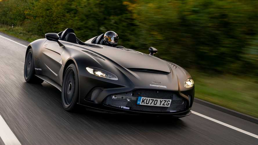Aston Martin V12 Speedster Prototype revealed looking sinister