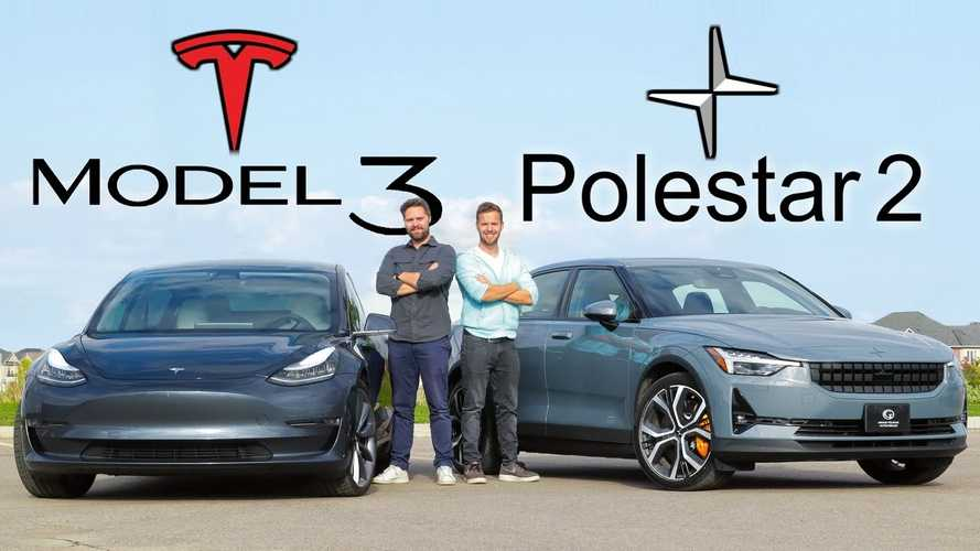 Video Comparison Helps You Choose Between Polestar 2 And Tesla Model 3