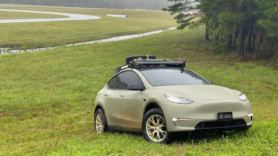 More Tesla Model Y off-road, mud, and carnage