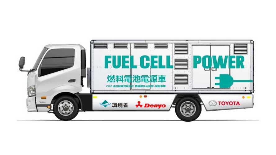 Toyota inicia teste de veículo a hidrogênio que gera eletricidade