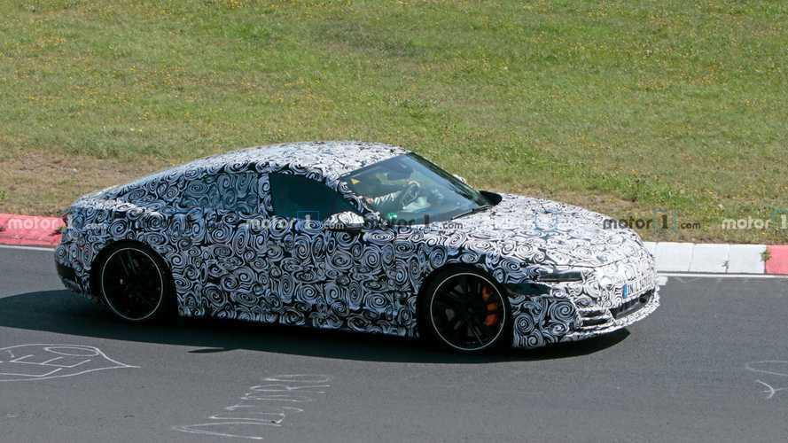 2020 Audi E-Tron GT'nin performans testleri devam ediyor