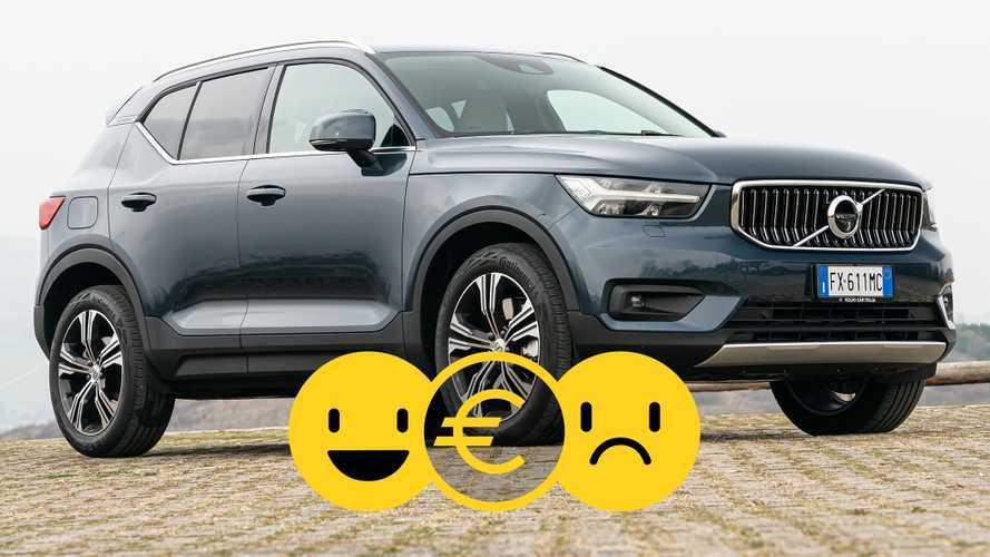 Promozione Volvo XC40 Recharge a noleggio, perché conviene e perché no