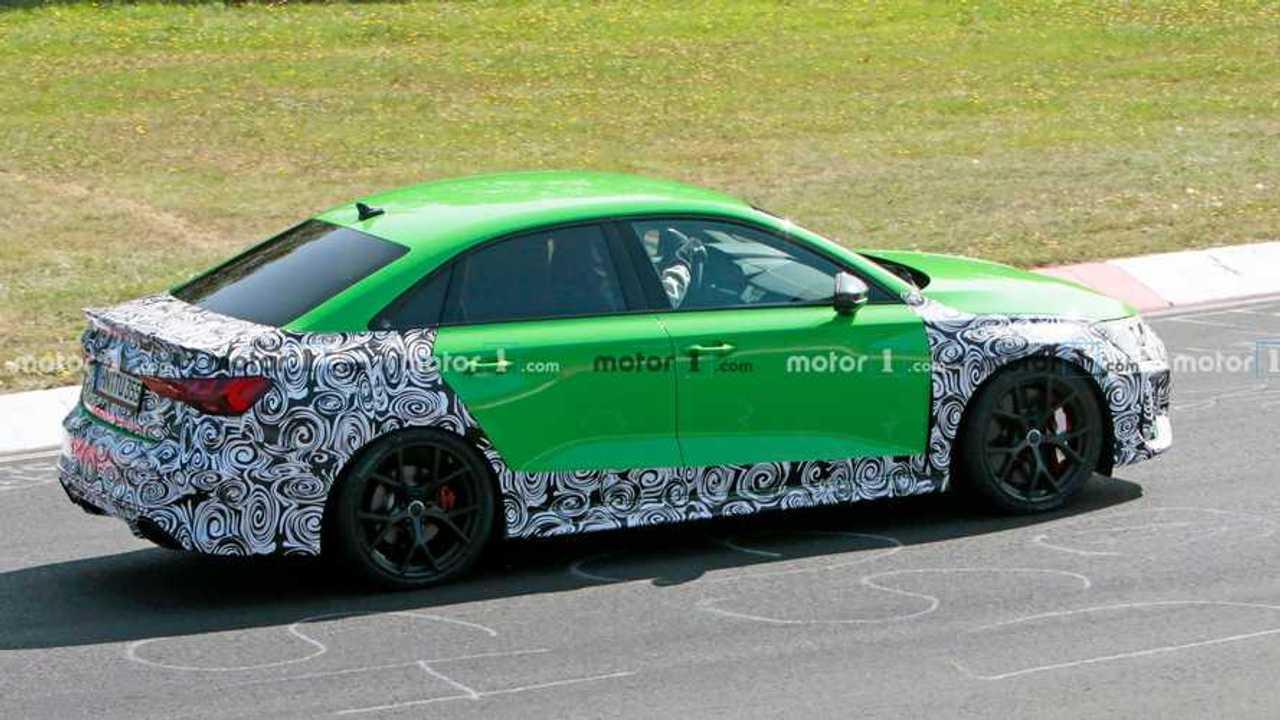 2020 Audi RS3 Sedan Nürburgring'de