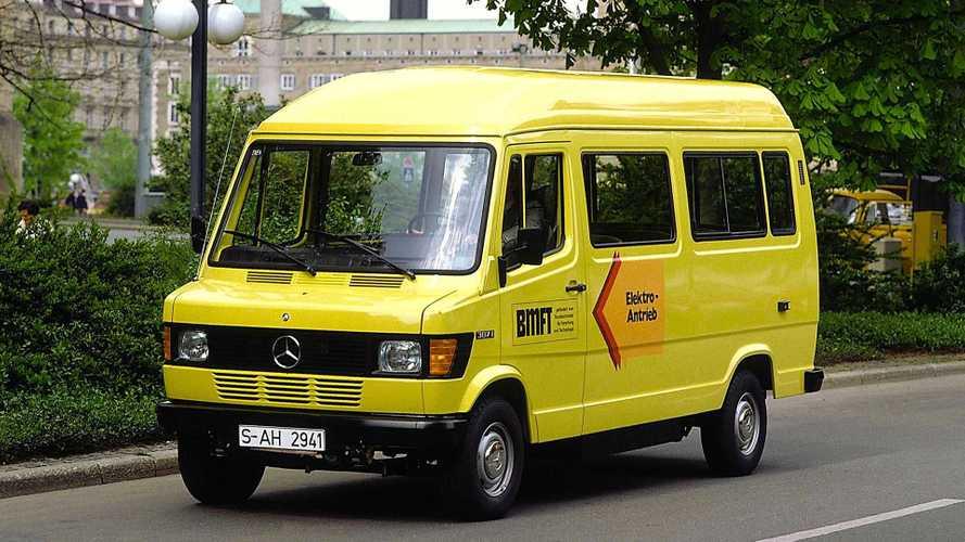 Mercedes 307 E: Der Elektro-Transporter wird 40 Jahre alt
