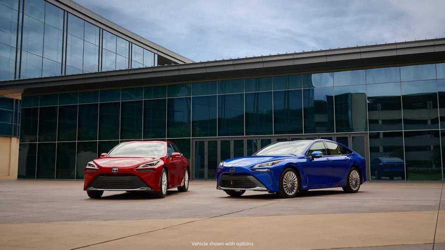 2021 Toyota Mirai production version