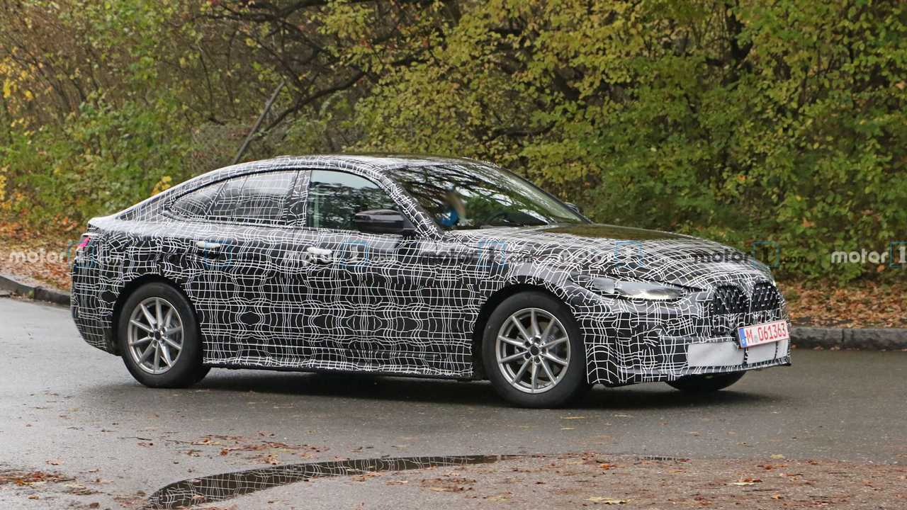 BMW 4-й серии Gran Coupe (шпионские фото)