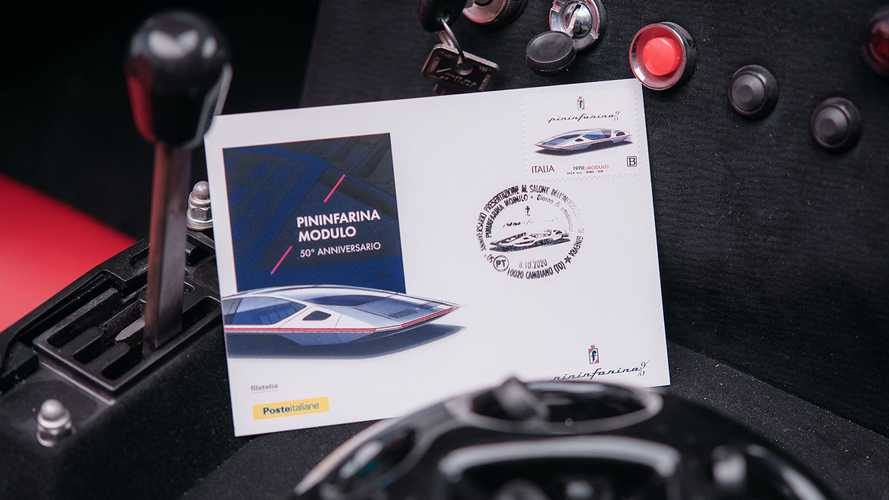 Italy Puts The Pininfarina Modulo On A Stamp