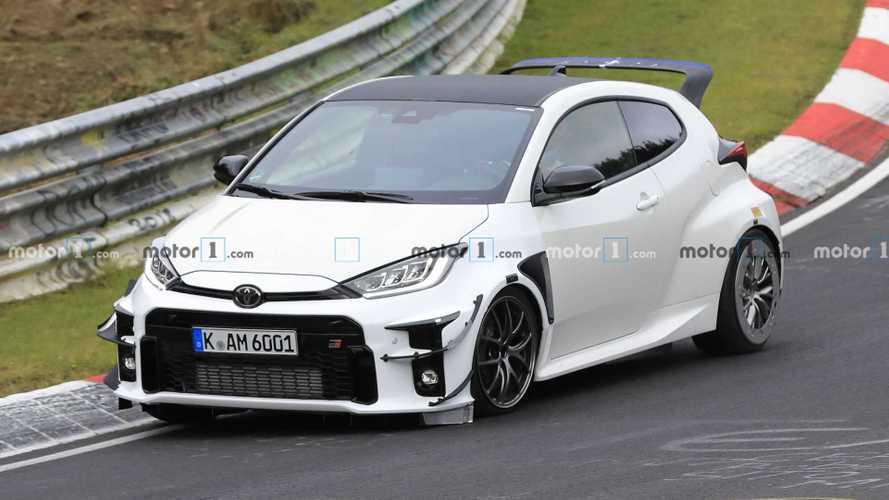 Est-ce la Toyota Yaris GRMN sur le Nürburgring ?