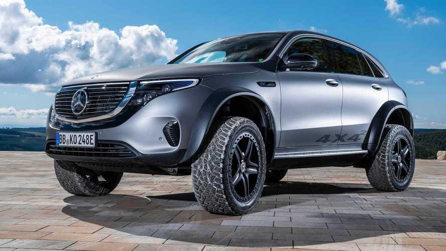 Mercedes EQC 4x4²: Elektroauto als Gelände-Tier mit Portalachsen