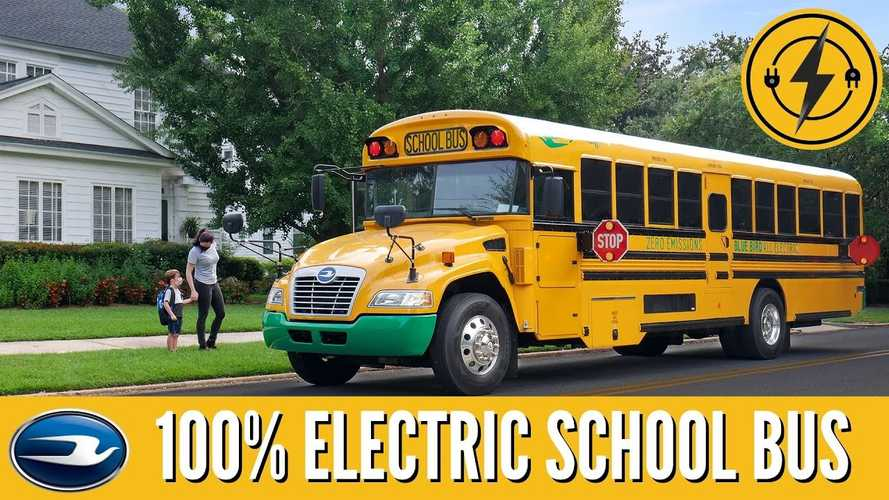 Blue Bird Sells Hundreds Of Electric School Buses