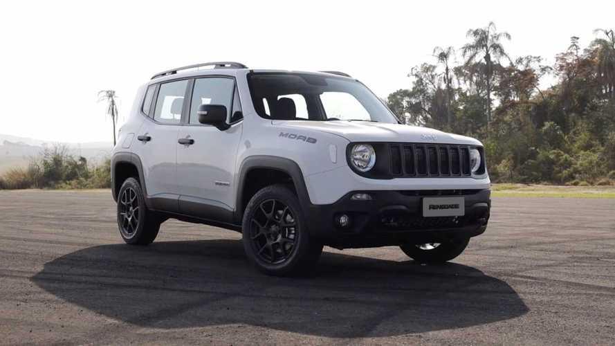 Jeep Renegade lidera vendas diretas entre automóveis em janeiro; veja ranking