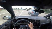 accidente coche volkswagen golf gti autobahn