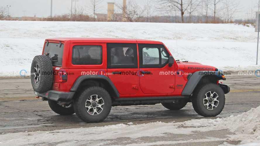 Jeep Wrangler Half-Door Spied In The Snow