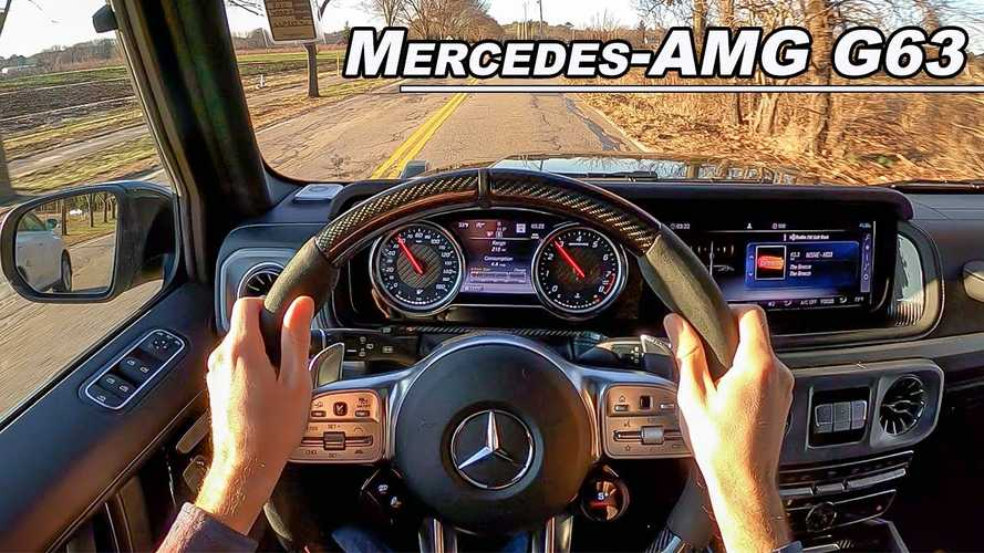 Here's A Rare Look At The Mercedes-AMG G63 Rocking Analog Dials