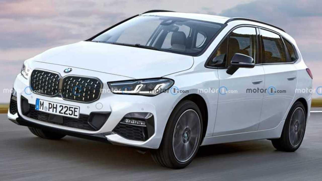 2021 BMW 2 Series Active Tourer Rendering