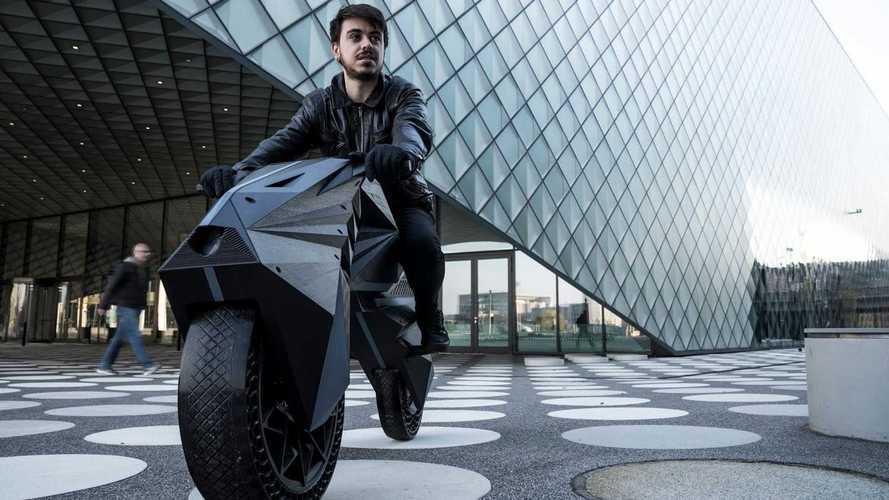 Veja a incrível moto elétrica impressa em 3D que pode ser personalizada