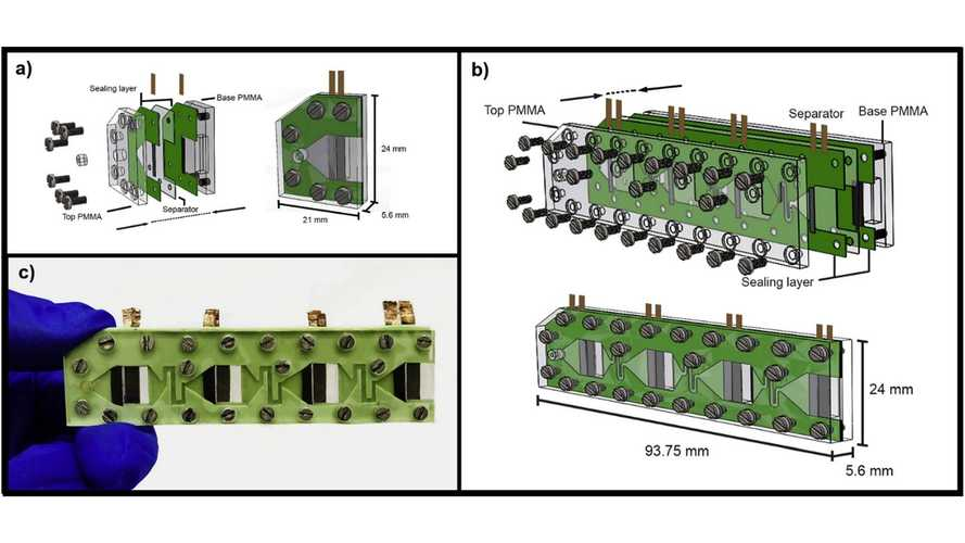 Membraneless Fuel Cell May Allow EVs To Use Ethanol To Recharge