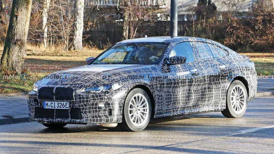 El BMW i4 M ya está en desarrollo, y hay fotos espía