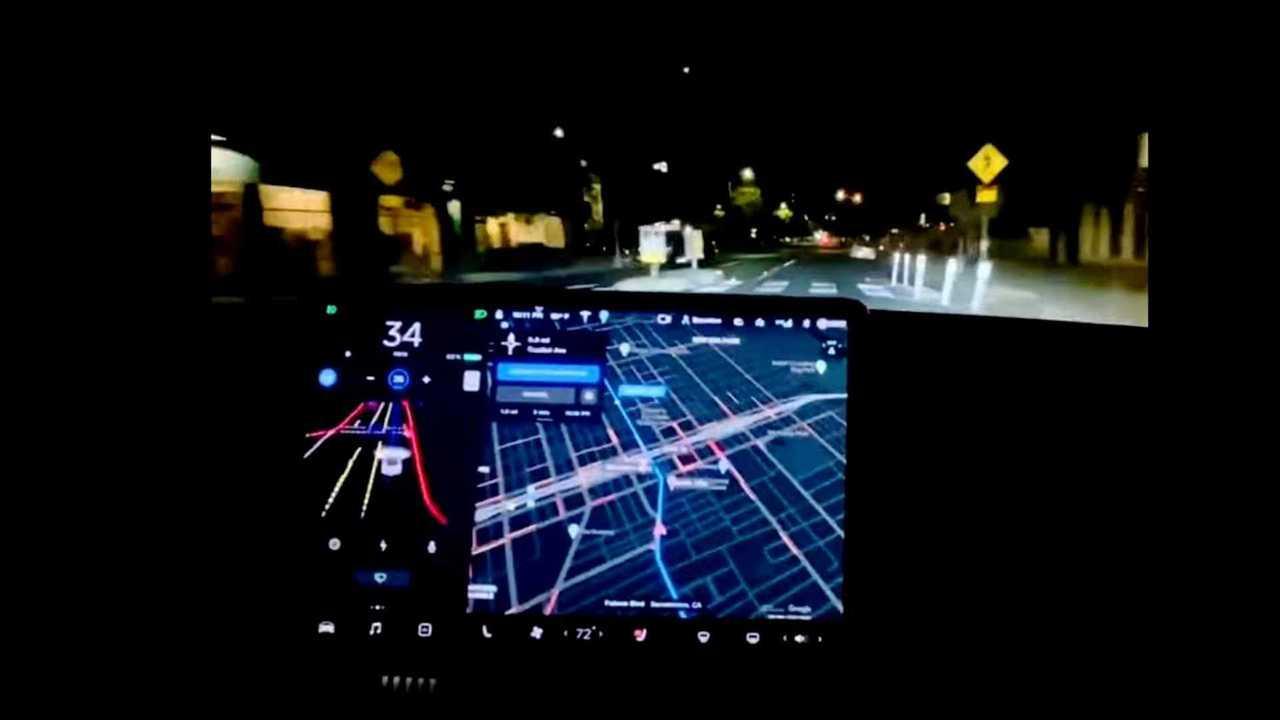 tesla conducao autonoma