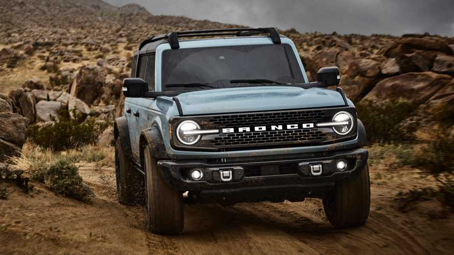 2021 Ford Bronco Order Guide Reveals Standard And Optional Equipment