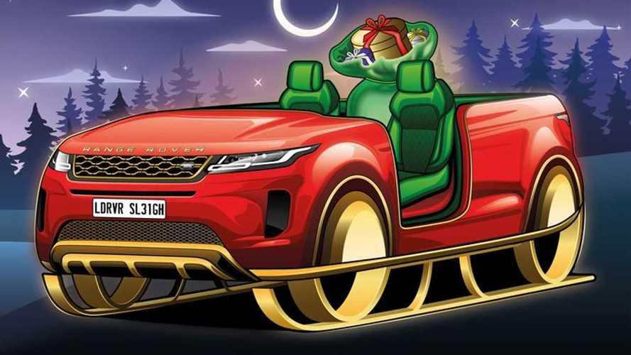 Сани Санта-Клауса от разных автопроизводителей