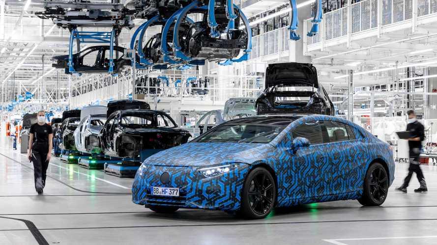 Six Mercedes électriques seront lancées d'ici 2022