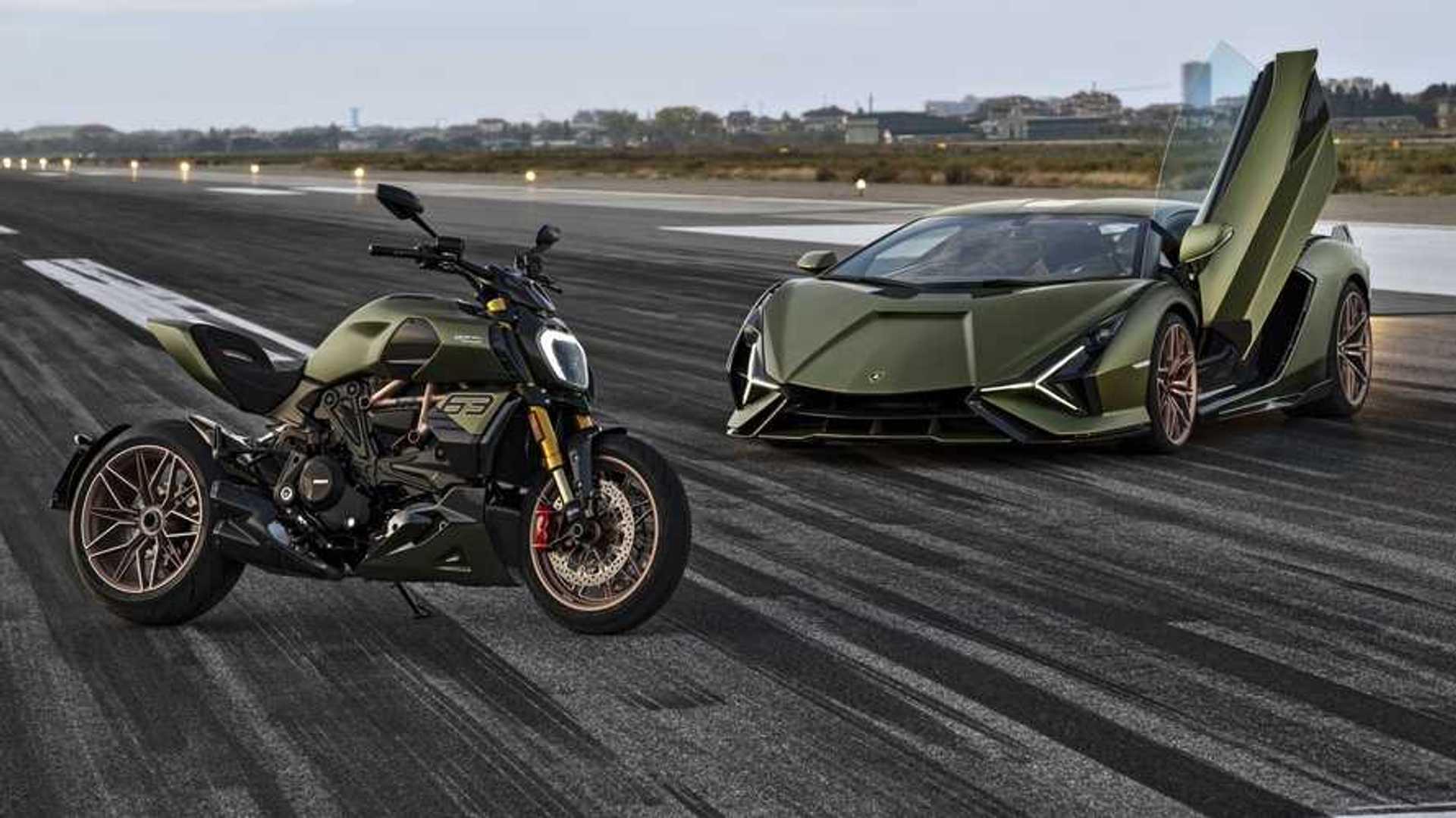 Ducati Diavel 1260 Lamborghini: DNA Motor Valley