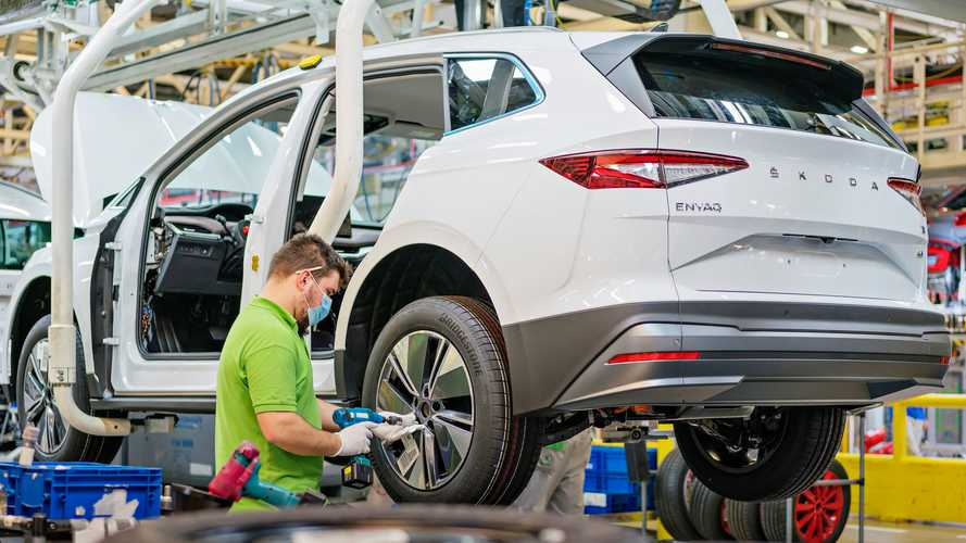 MEB-Based Skoda Enyaq iV Enters Production In Mlada Boleslav