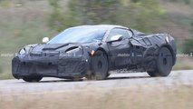 Chevrolet Corvette Grand Sport Spy Shots