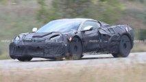 Chevrolet Corvette Grand Sport Spy Shots