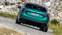 Alfa Romeo Giulia Quadrifoglio MY 2020 test