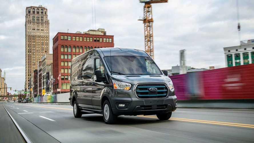 Ford испытает E–Transit на дорогах общего пользования