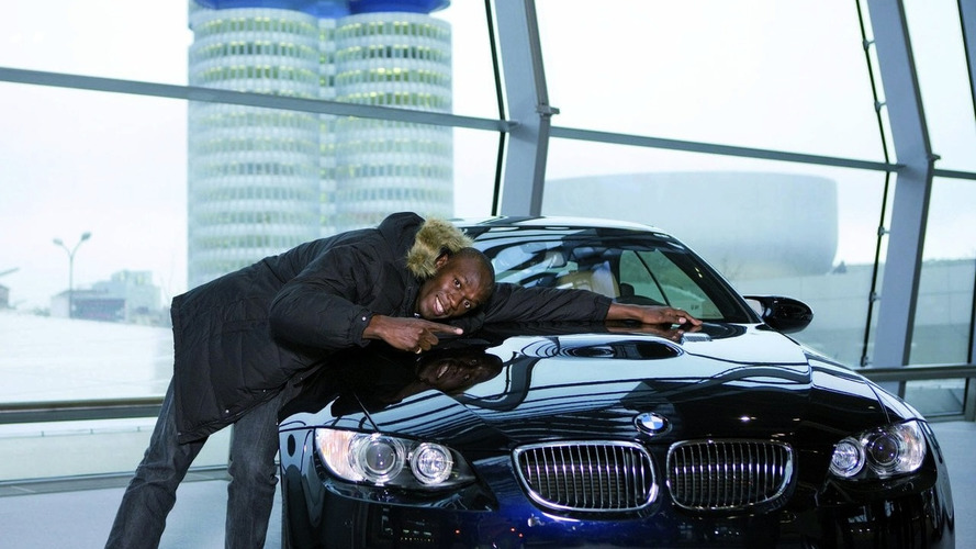 Olympic Champion Usain Bolt Settles on BMW M3