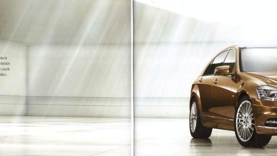 2010 Mercedes S-Class Facelift Brochure Leaks Outs