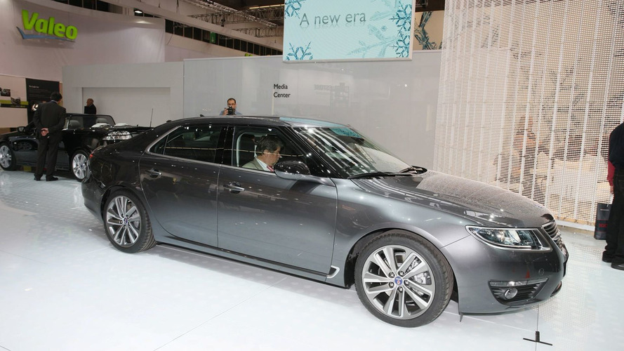 2010 Saab 9-5 World Premier at 2009 IAA in Frankfurt