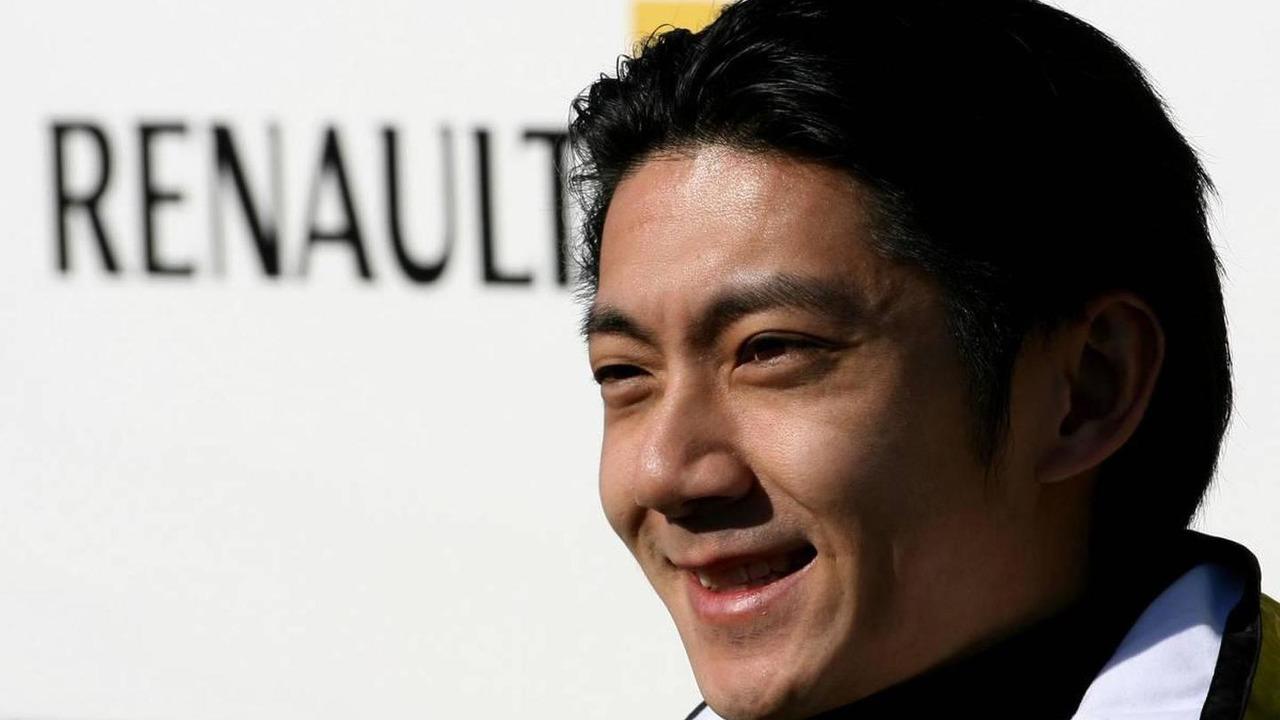Ho-Pin Tung (CHN), Test Driver, Renault F1 Team, Formula 1 Testing, 02.02.2010 Valencia, Spain