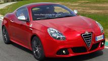 Alfa Romeo Giulietta Sprint rendering