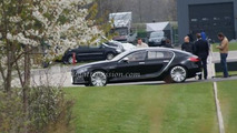 Bugatti 16C Galibier spotted outside factory