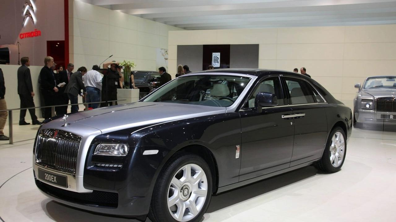 Rolls Royce 200EX Concept in Geneva 2009