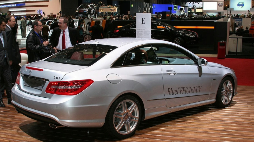 Mercedes-Benz E-Class Coupe Official Unveiling in Geneva