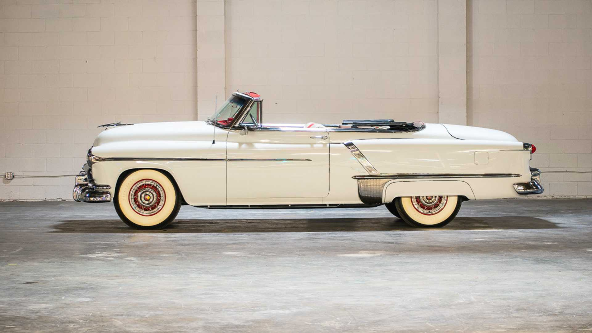 "[""1952 Oldsmobile Ninety-Eight Convertible: Ahead Of Its Time""]"