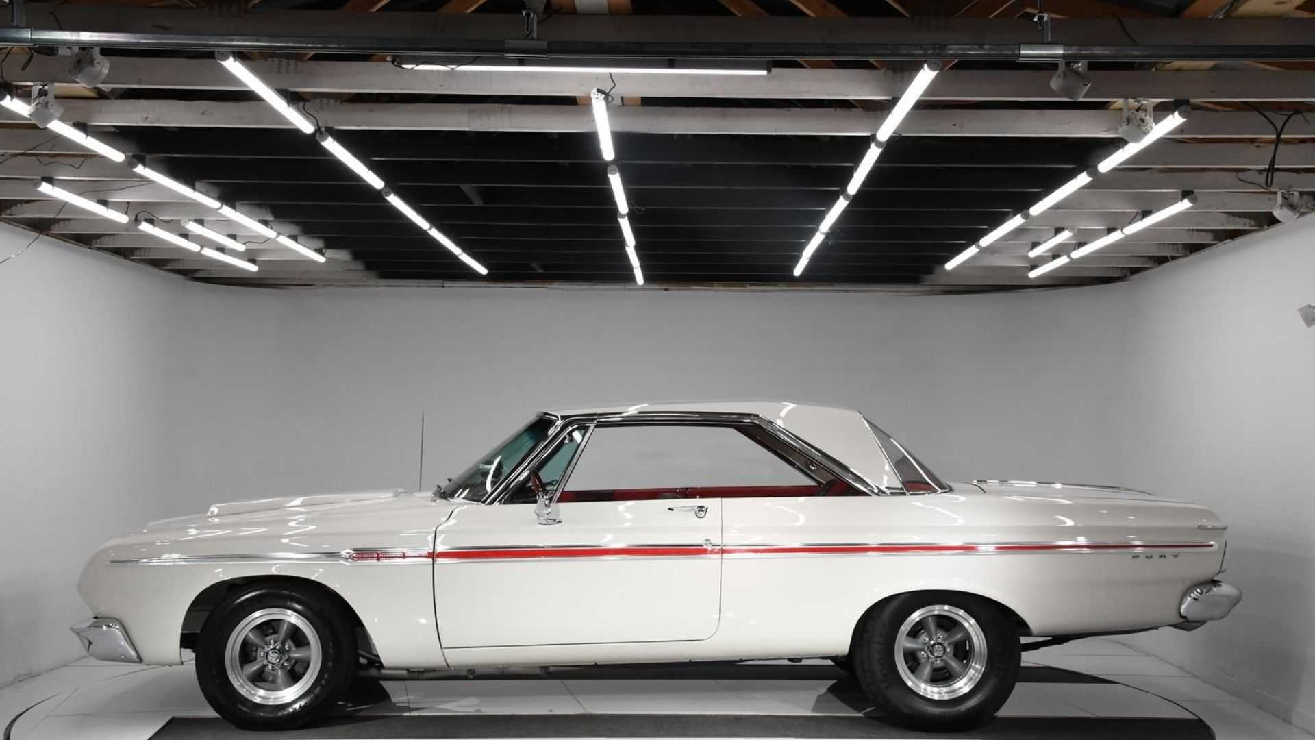 """[""""Perfect 1964 Plymouth Fury Combines Beauty And Brawn""""]"""