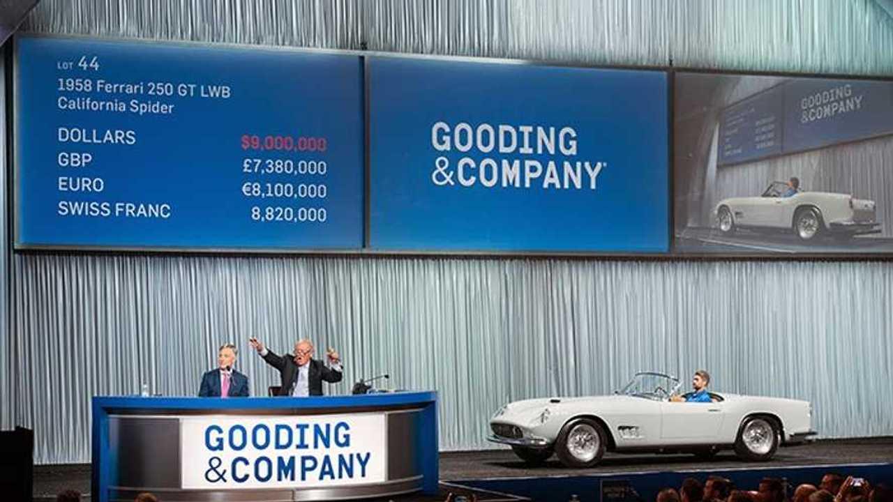 Gooding & Company Accrues Over $76 Million, 2019 Pebble Beach Auctions