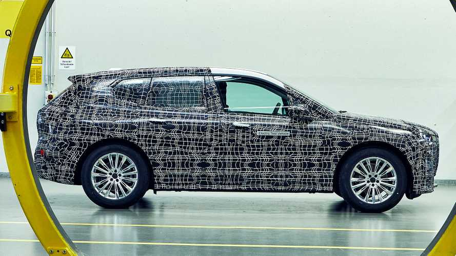 2021 BMW iNEXT returns in new teasers showing prototypes production