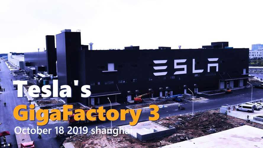Tesla Gigafactory 3 Construction Progress October 18, 2019: Video