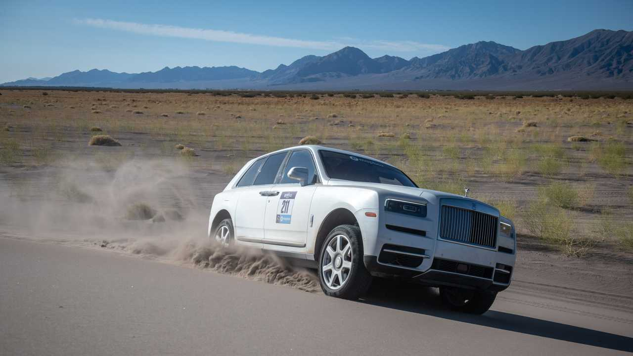 Rolls-Royce Cullinan Proves Victorious In All-Female Off-Road Rebelle Rally